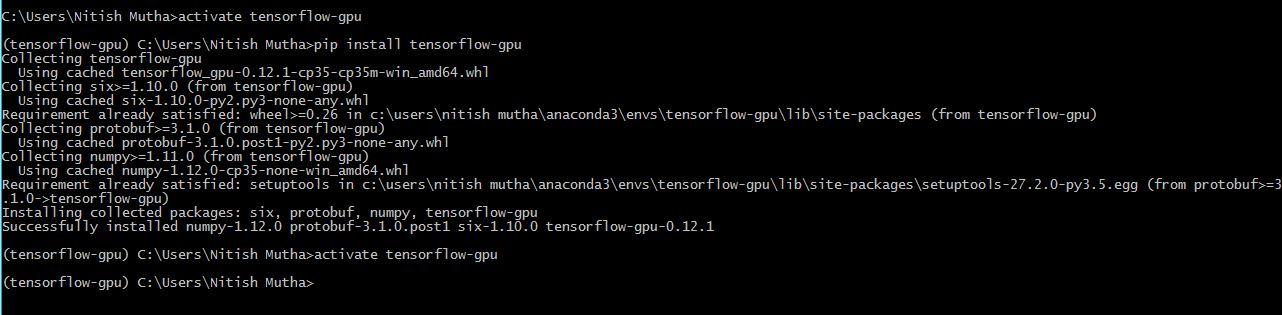 Install Tensorflow With Gpu For Windows 10